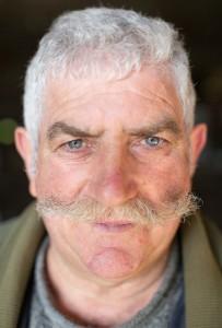 Jean-Paul Chagneau, agriculteur bio à la retraite mais toujours actif, en contact avec l'association RE-BON Réseau de glanage nantais.