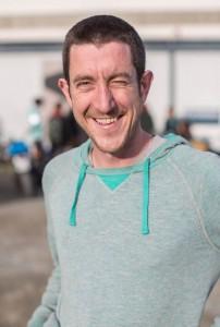 Fred, baroudeur en camion (et prochainement en voilier), nouveau adhérent au GASE (Groupement d'Achat Service Épicerie). http://gase.parlenet.org/