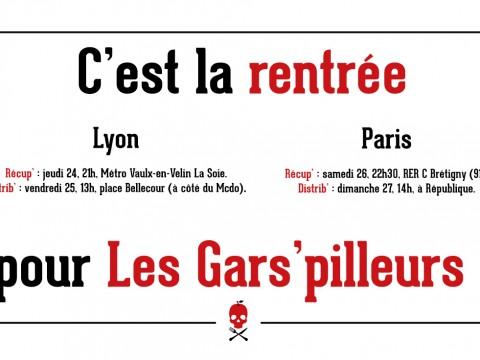 Rentrée 2015 à Lyon